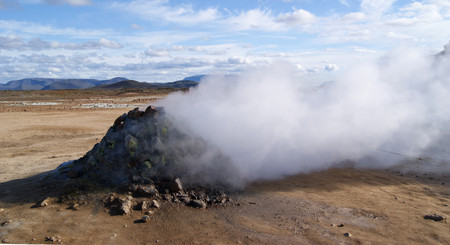 sulfur steam iceland