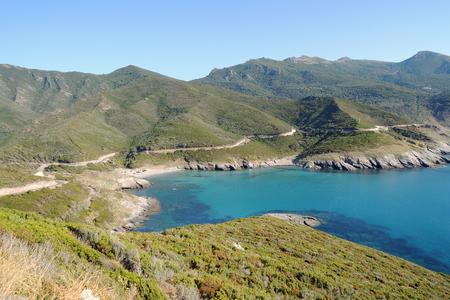 corse: Fantastic gulf view, Cap Corse, France
