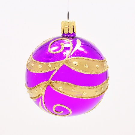 Beautiful colorful Christmas ornament with gold accents Stock Photo - 14666684