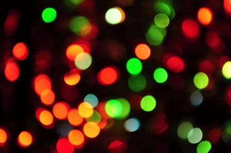 Colorful background with many small colored flashing lights Stock Photo - 14985705