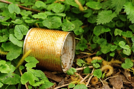 Tin - the dangerous pollution of the planet Earth
