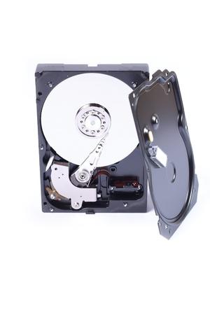 gigabytes: Hard disk Stock Photo