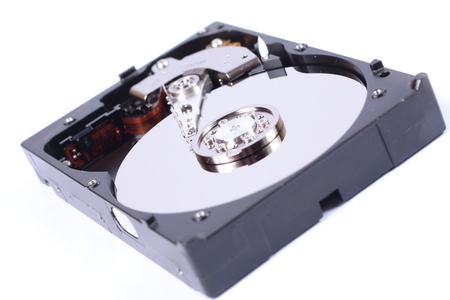 computer part: Hard disk Stock Photo