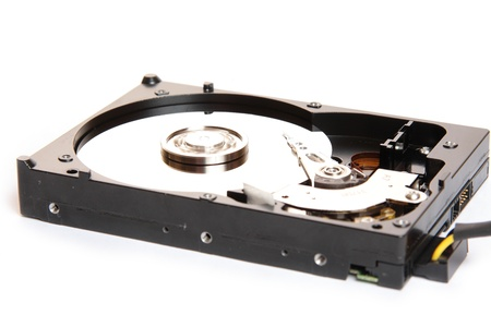 Hard disk and plate rotation photo