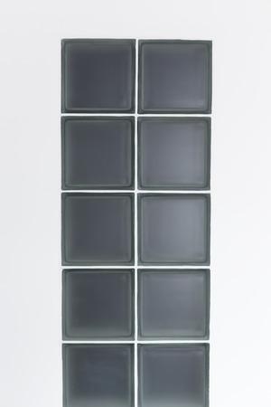 2 rows of glass block photo