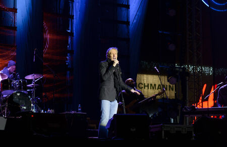 galati: 31DEC2013 Pop star MICHAEL BOLTON at ROMANIA GALATI