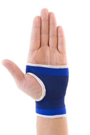 splint: Carpal wrist isolated on white background