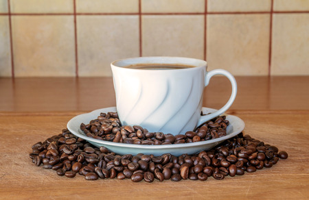 stimulant: cup of coffee Stock Photo