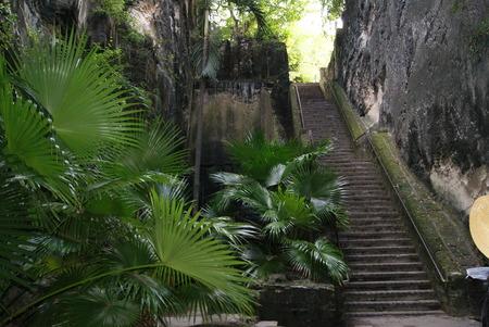 Queens Staircase Reklamní fotografie