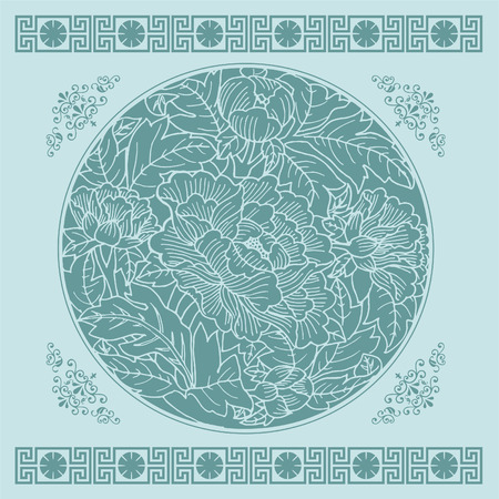 cut paper: lotus