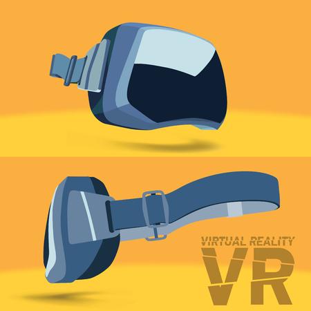 virtual reality simulator: Virtual reality headset