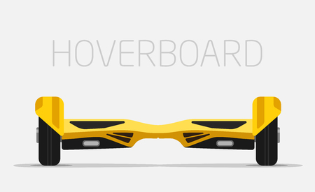 hover: Hoverboard. Electric smart two Wheels Balance Board.