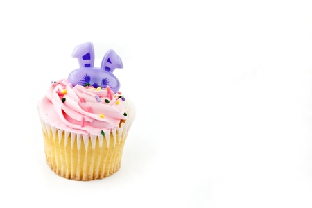 cup: A close up cup cake decoration