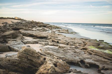 Rocky beach Standard-Bild