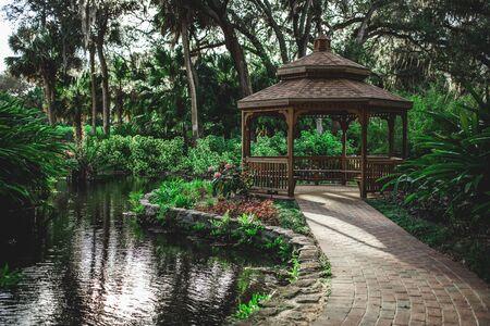 Gazebo in a park