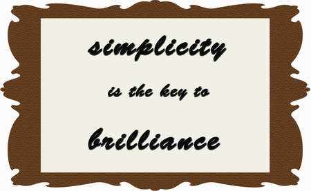 simplicity quote photo