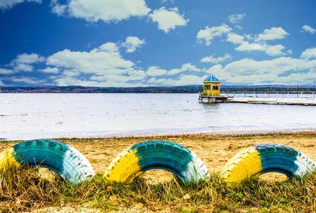 suggestive: Suggestive view of Tavatui lake,Russia