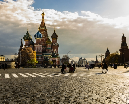 vasily: st-basil cathedral, moscow
