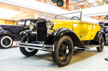 russian car: Vintage russian car Editorial