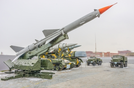 nuclear bomb: Long range missile