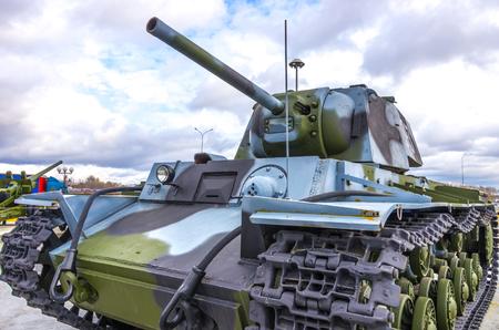 tanque de guerra: Tanque de guerra vista de cerca