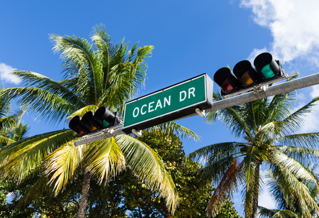city of miami: ocean drive, Miami