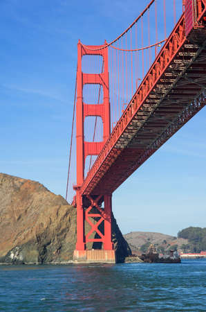 The worldfamous Golden Gate,California photo
