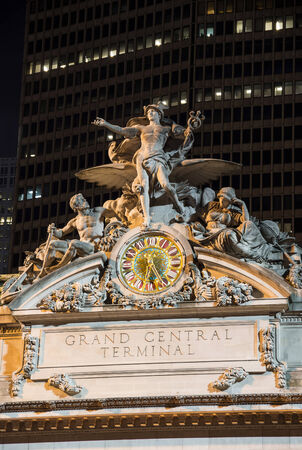 Close up view of Grand Central station photo