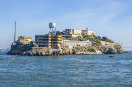 Alcatraz island on San Francisco Bay