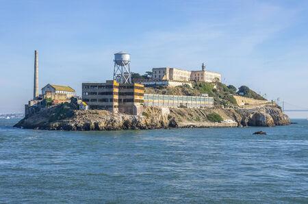 incarcerated: Alcatraz island on San Francisco Bay