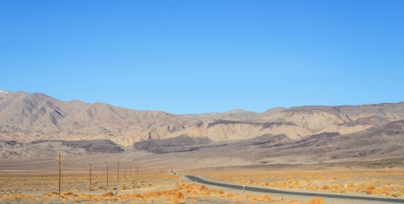 jct: Death Valley panorama in California Stock Photo