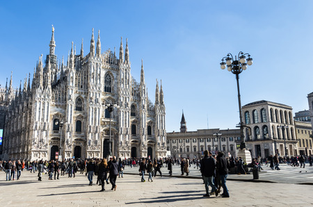beautiful duomo of Milan