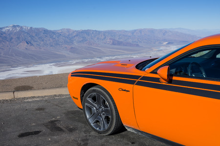 dodge challenger,at death valley