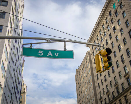 vacance: New York 5Th Avenue Plate