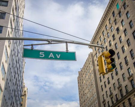 5th: New York 5Th Avenue Plate