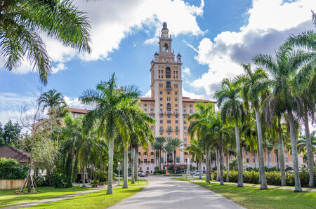 gables: MIAMI,FLORIDA - DECEMBER 2, 2013: the famous Biltmore Hotel,Miami