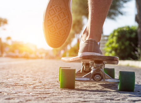 アクションでスケーター