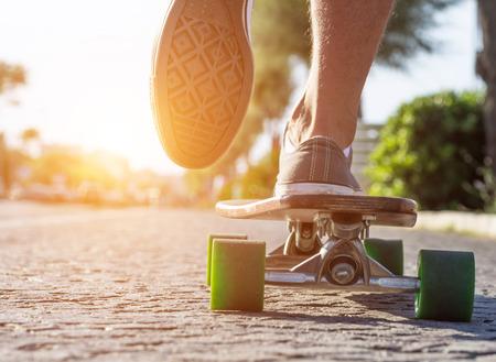 skater in actie