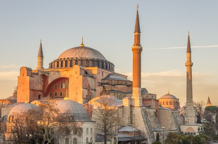 aya: Hagia Sophia basilica in Istanbul