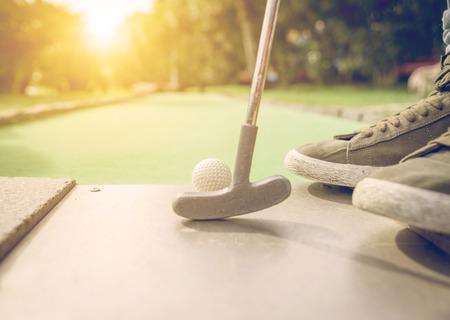 teen golf: mini golf