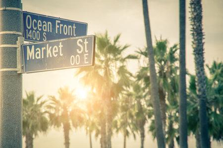 beach front: Ocean Front Walk of Venice Beach in Venice, California Editorial