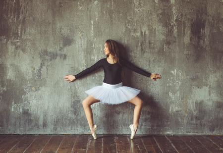 classic ballet dancer Stock Photo