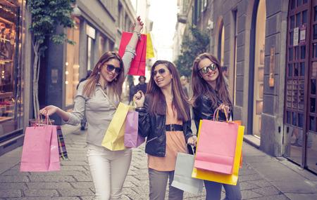 faire les courses: extr�me achats Banque d'images