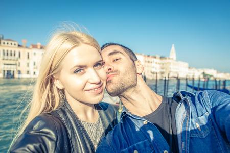 Selfie のカップル