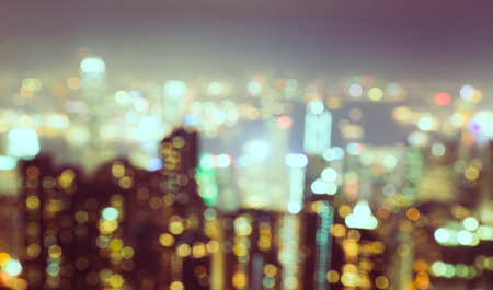 blurred city background photo