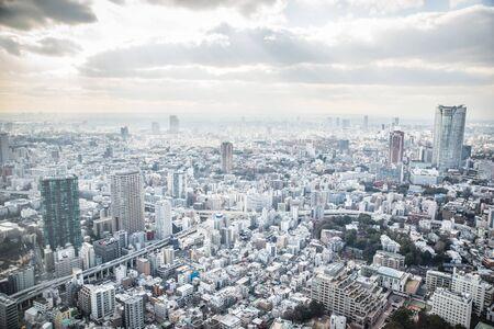 industrial district: tokyo sky view