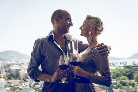 middle age couple: love in phuket