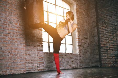artes marciales: entrenamiento de combate Foto de archivo
