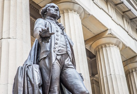 illuminati: george washington monument in New York city.