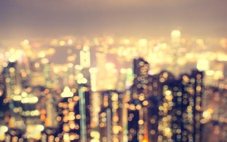 wazig stad luchtfoto vanuit het gezichtspunt Stockfoto